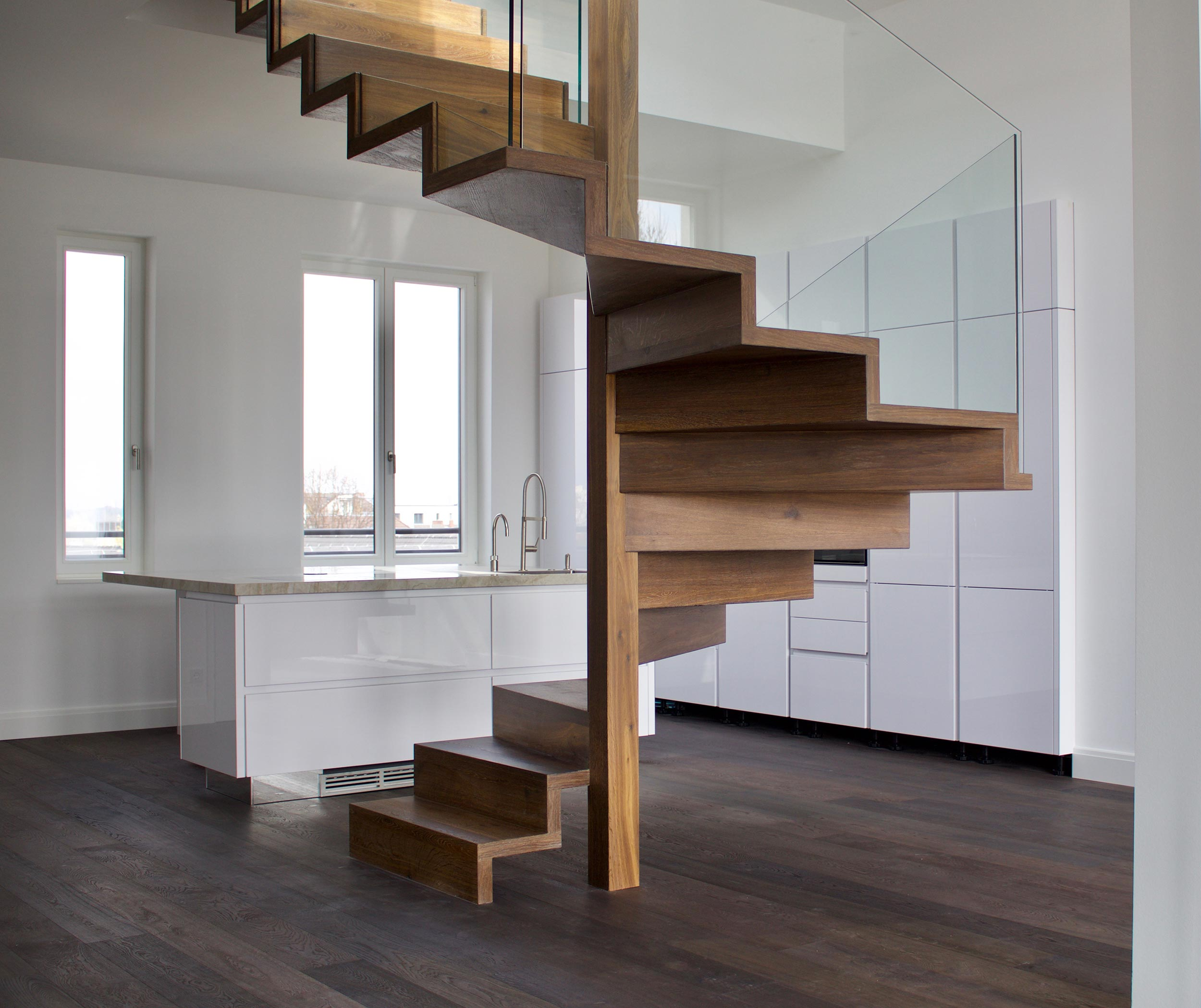 Treppengel nder treppenbau diehl in frankfurt for Designelemente wohnung